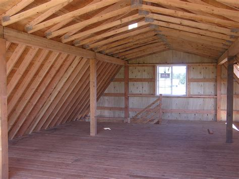 Barn Loft Plans Sy Sheds Barn Style Shed Blueprints