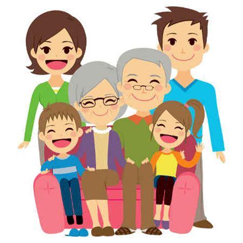 clipart famiglia cuentos para contar actividades infantil