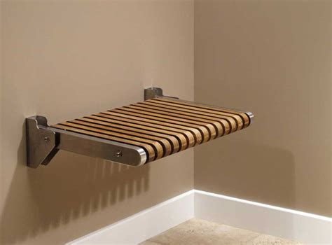 fold bench seat for fold shower seats with teak seat home interior