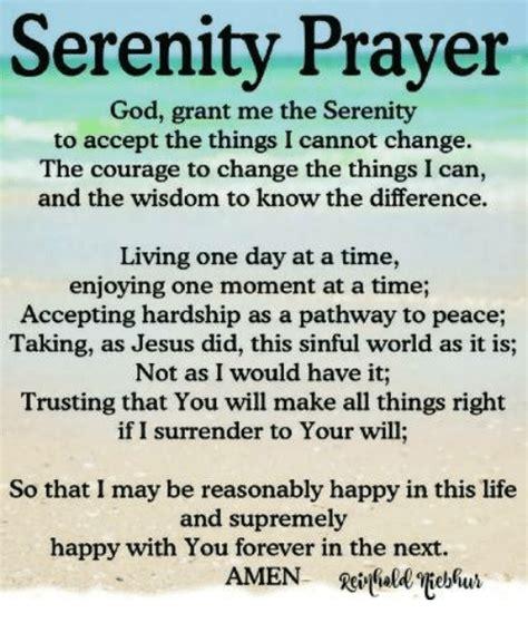 Serenity Prayer Meme - serenity prayer god grant me the serenity to accept the
