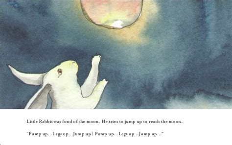 rabbit moon books childrens picture book rabbit and the moon