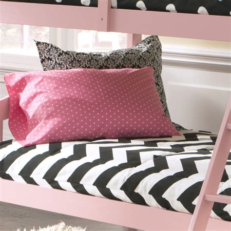 Quot Charlie Quot Chevron Fitted Bunk Bed Comforter Bedding For Fitted Comforters For Bunk Beds