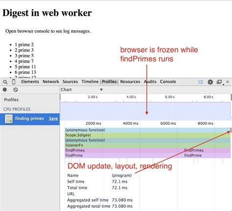 dom layout event run angular digest cycle in web worker better world by