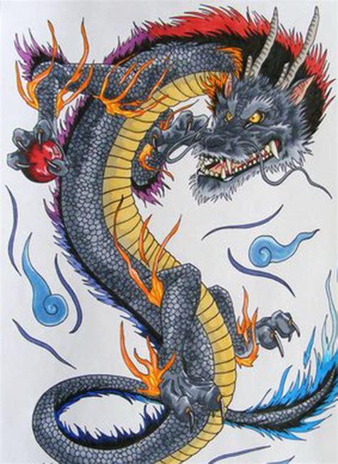 colorful dragon tattoo designs 9 amazing japanese design ideas