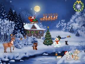 Animated christmas screensavers with music free christmas screensaver