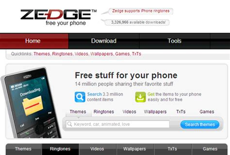 download free themes for your mobile phone zedge 10 websites for free mobile phone ringtones other mobile
