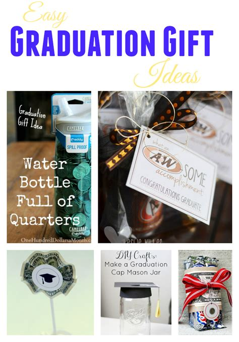 Graduation Gift Card Ideas - easy graduation gift ideas skip to my lou