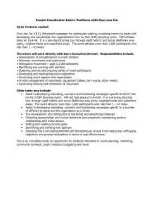 events coordinator cover letter awesome special event planning event planning checklist