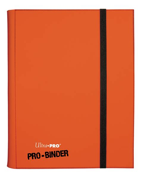 Ultra Pro 9 Pocket Orange Pro Binder ultra pro 9 pocket portfolio samlealbum 9 pocket orange pro binder 84566