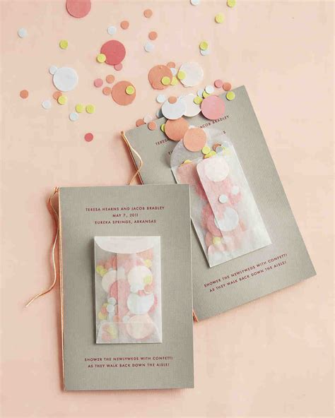 diy programs for weddings 25 ways to upgrade your diy wedding programs martha stewart weddings