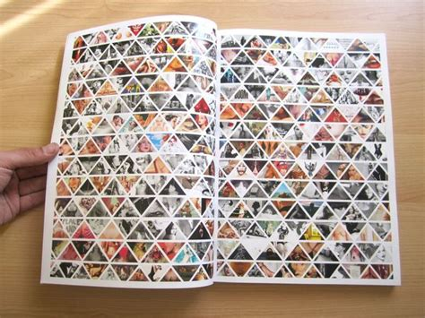 magazine layout photo collage collage ideas collage and triangles on pinterest