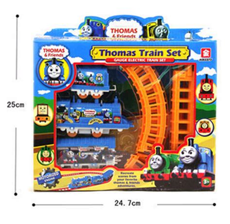Diecast And Friends Motorized Railway set electric and friends trackmaster toys railway diy diecast