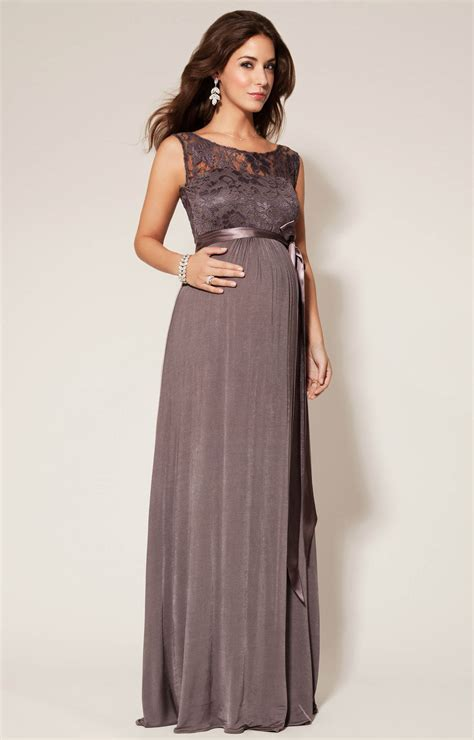maternity party dress long valencia maternity gown long charcoal maternity wedding