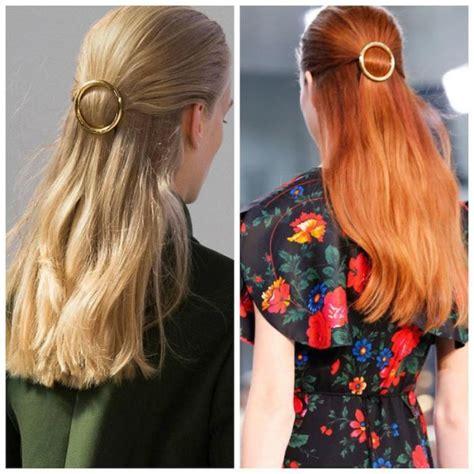 tutorial rambut musim panas trend aksesori rambut musim panas mesti dimiliki circle