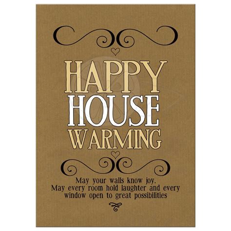 Housewarming Quotes For Cards