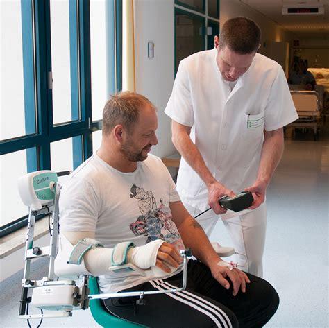 gestell nach schulter op fachzentren physiotherapie standort missioklinik