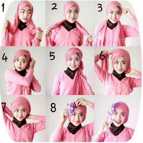 download video tutorial hijab turban segi empat cara berhijab tutorial segi empat images cara berhijab