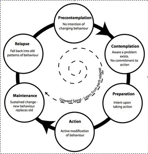 stages of change diagram attack your 2014 resolution mindfully fitstrong brisbane