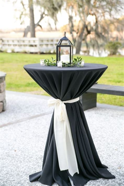 25  best ideas about Cocktail table decor on Pinterest   Wedding table covers, Wedding linens