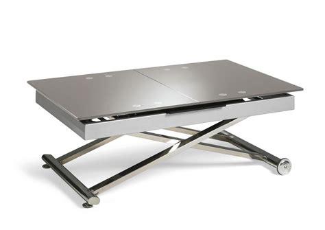 table basse manger acheter votre table basse relevable et extensible dessus