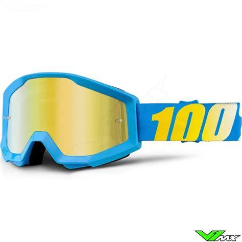 Goggle 100 Strata 100 strata goggle cyan mirror lens v1mx