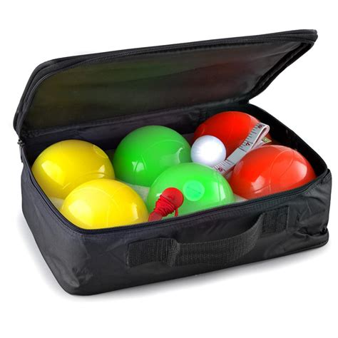lighted bocce ball set lighted bocce ball set 152411 yard games at sportsman s