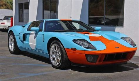 ford gt original 2006 ford gt heritage edition with 27 original for sale