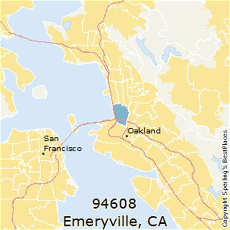 california map emeryville best places to live in emeryville zip 94608 california