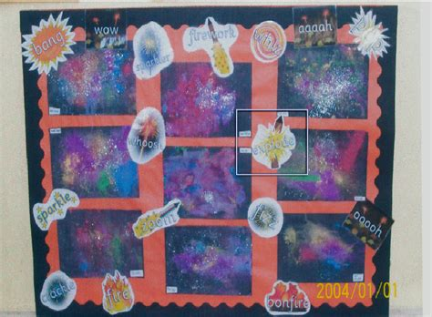 new year display ks1 fireworks classroom display photo sparklebox