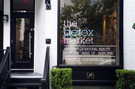 The Detox Market by Thenotice The Detox Market Scollard St Toronto Tour