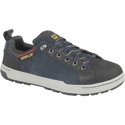 Caterpillar Low Safety Shoe Kulit Buk Size 39 45 cat brode lo safety trainer mammothworkwear