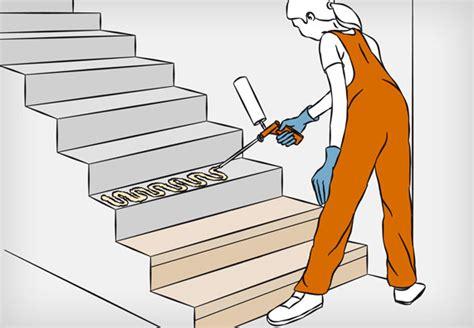 treppenstufen parkett auf betonstufen treppenstufen holz fur betontreppe bvrao