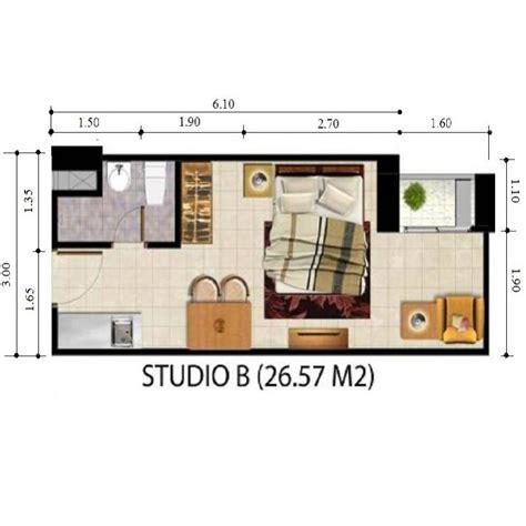 Modis Sofa Khusus Kota Medan apartemen dijual studio khusus 26 5 m2 apartemen