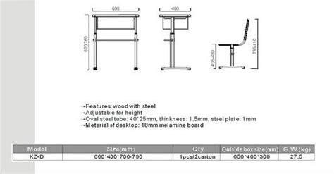 School Desk Measurements by Kz D School Furniture Standard Size Of School Desk Buy