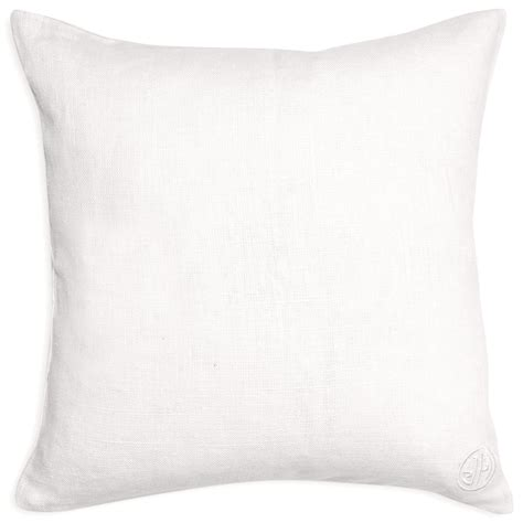opium beaded linen throw pillow