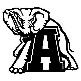 alabama elephant coloring page alabama elephant signtorch turning images into vector