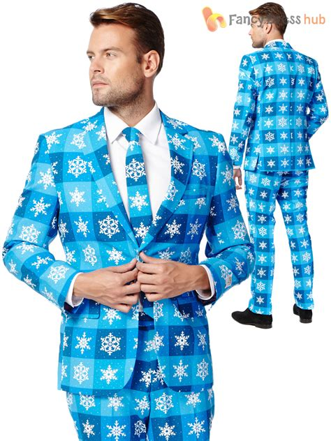 suit for christmas party mens opposuit festive oppo suit fancy dress costume ebay