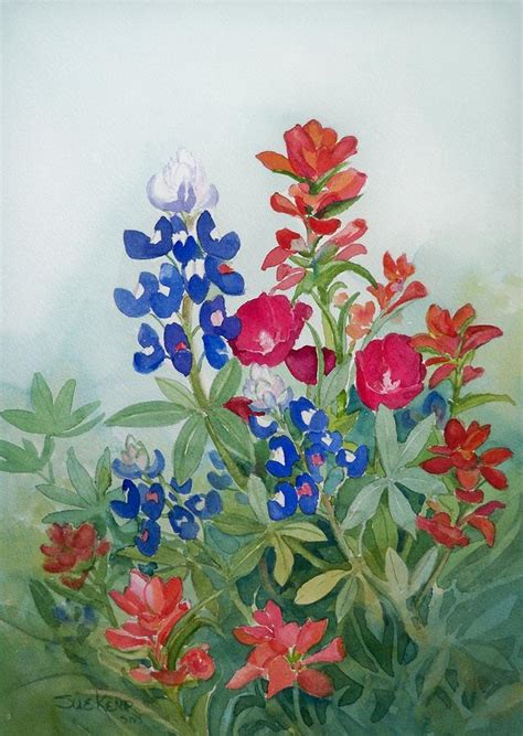 watercolor tattoo wildflowers wildflowers painting by sue kemp