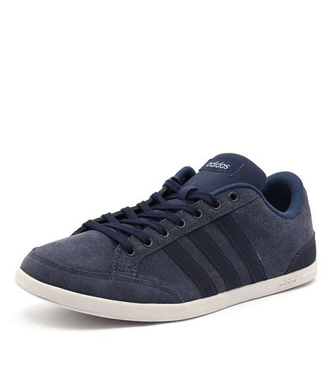 new adidas neo caflaire navy navy blue mens shoes casual