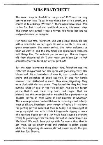 roald dahl biography lesson plan boy by roald dahl by jamestickle86 teaching resources tes