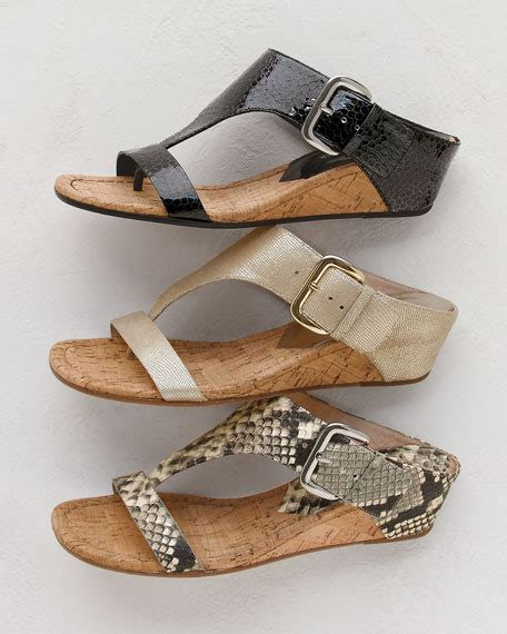 Mossimo Parry Patent Cork Slide Wedges by Donald J Pliner Doli 2 Patent Low Wedge Cork Slide