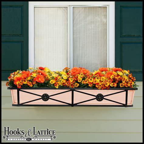 copper window box decora copper window boxes iron window box copper flower box