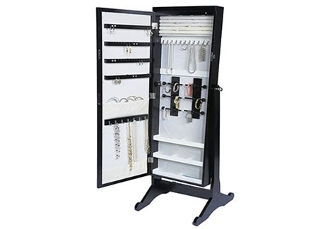 Length Jewelry Armoire by Jewelry Armoire With Length Mirror Sharper Image
