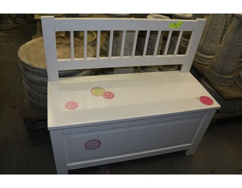 girls storage bench girls white storage bench