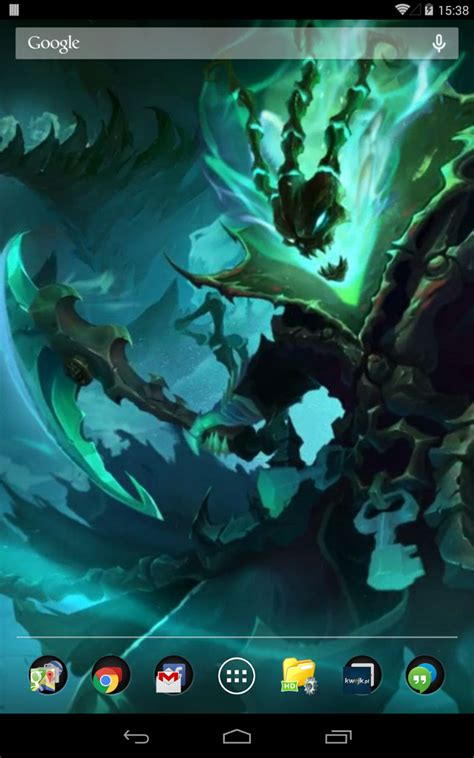 amazoncom thresh league  legends  wallpaper