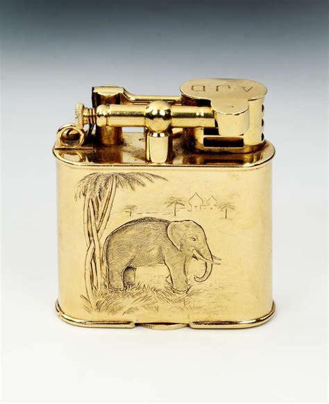 18ct gold unique a sports pocket lighter at