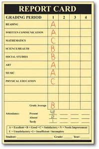 Student Report Card Template Parkway Enews Story