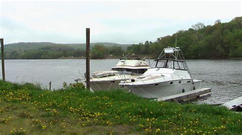 boat canvas leaking silverton 34c