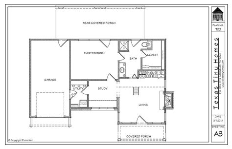 tiny texas houses floor plans plan 783 texas tiny homes