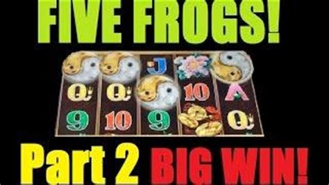 big slot machine win  frogs  frogs slot machine bonus  spins part